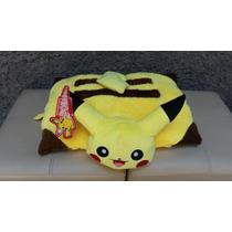 Almohada De Pikachu, Pokemon Transformable, Con Etiquetas.