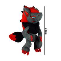 Pokemon Dx Peluche Importado Zoroark Original