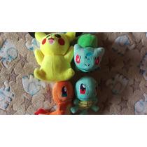 Plush Pokemon Pikachu Peluche Charizard Squartle Animecun