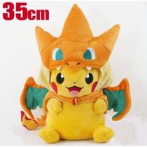 Peluche Pikachu Pikazard Pokemon Center Original