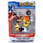 Pokémon 3 Pack Figuras Helioptile Meowth Eevee 2015