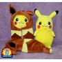 Peluche Pokemon Center Pikachu Nebukuro Eevee 30 Cm Cosplay