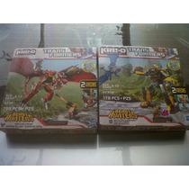 Zarpazo Letal Y Red De Batalla Transformers Kre-o (hasbro)