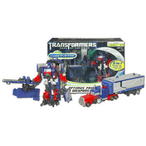 Optimus Prime Armored Weapons Cybeverse Transformers Dotm