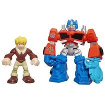 Héroes Playskool Transformers Rescue Bots Energize Figuras -