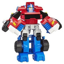 Figura Héroes Playskool Transformers Rescue Bots Optimus Pri