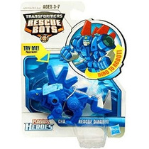 Playskool Transformers Rescue Bots Chase The Figura Dinobot