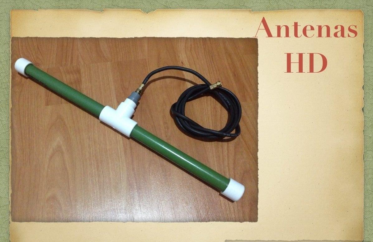 Antena hd hdtv interior exterior alta definici n 100 - Precios de antenas de television ...