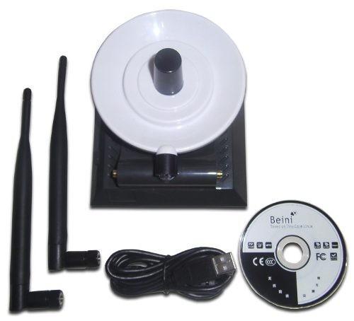 Antena Wifi Internet Usb Diamond 1500 Metros 36dbi P. 3800mw