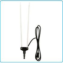 Antena De Conejo Hdtv Con Cable Coaxial Alta Presicion