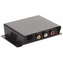 Extensor Audio Video Rca De Largo Alcance 100 Mts Para Utp