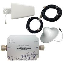 Kit Antena Amplificador Señal Celular 3g Telcel Movistar