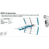 Antena Aerea Para Tv 8 Elementos Marca Voltech