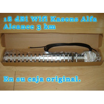 Antena Yagi Wifi 3km 18dbi Alta Potencia Exteriores En Caja