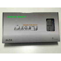 Antena Wifi Alfa Luxury Awus036h 2 Antenas 5dbi Y 8dbi