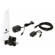Antena Hdtv Recepcion De 90° Tv Hd Digital Voltech 48165