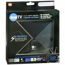 Kit De 2 Antenas Clear Tv Antena Hd