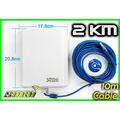 Antena Wifi Internet Adaptador Red Signal King 10tn 60 Dbi