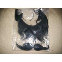 Gcg Barbas Y Bigotes Negras Disfraz De 22 Cm Y 15 Cm Css