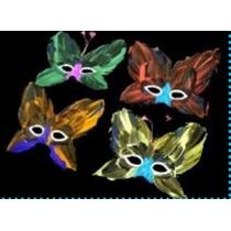 10 Antifaces Plumas Mod. 680 Varios Colores