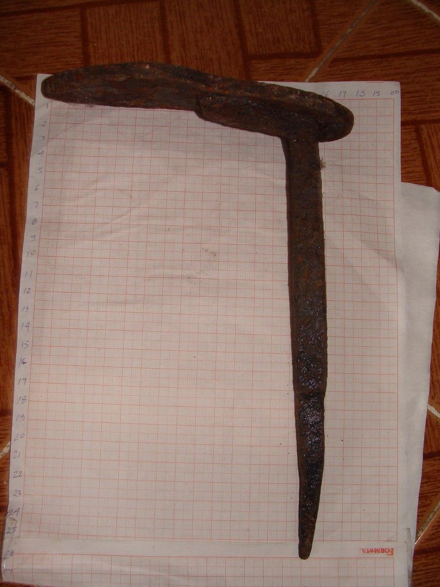 Antigua herramienta de zapatero forjado en for Zapatero mueble mercadolibre