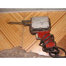 Antiguo Cautin Electrico, De Madera, Funciona