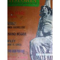 Revista Todo Es Historia Numero 21 Mata Hari Sandino