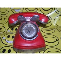 Antiguo Telefono Relog Raro Funcionando