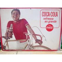 Anuncio De Coca-cola Antigua Lámina Envío Gratis