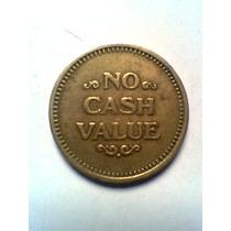 Token No Cash Value Barco De Vapor