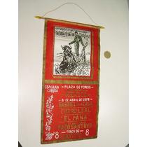 Cartel Banderín Corrida De Toros Plaza Mëxico 8 Abril 1979