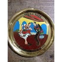 Charola Conmemorativa De Tequila Sauza