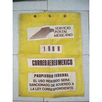 Sacas Correo Antiguo Costales Servicio Postal Mexicano 1988