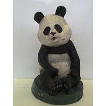Antigua Alcancía Oso Panda 70´s / A. V. S.a./ Una Joya Retro