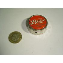 Vintage Encendedor Y Destapador En Forma De Corcholata Beer