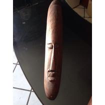 Máscara Indonesia Talla De Madera Antigua Envío Gratis