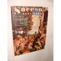 Revista Sucesos Para Todos, Año 1958, Con Anuncios De La Epo