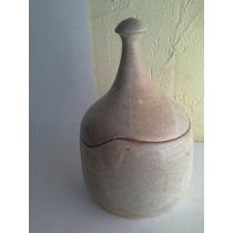 Vasija De Ceramica Diseno Unico Coleccionable!