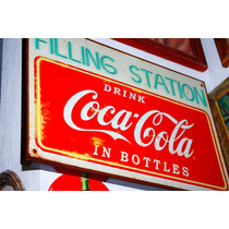 Lamina Coca Cola Tipo Antiguo