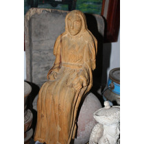 Antigua Figura De Nmadera