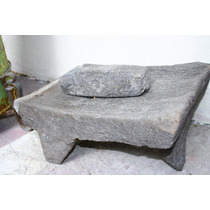 Metate Antiguo De Piedra