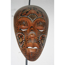 Mascara Africana Con Incrustaciones Envio Gratis