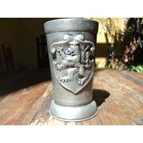 Vaso De Estaño Año 1807 Copa Tarro Cerveza Medieval Vino