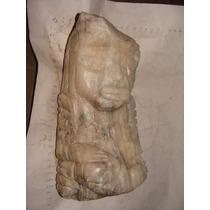 Antigua Figura Tallada En Piedra Tipo Antigua