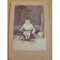 Fotografia Antigua, Niño De 1904