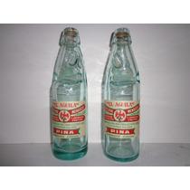 Botellas Antiguas De Canica El Aguila