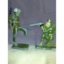 Antiguos Soldados De Plomo