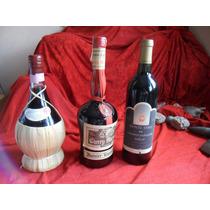 Lote De 3n Botellas Chiant, Gran Marnier, Monte Xanic