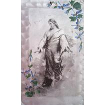 Antiguo Grabado 1899 Jesús De Nazaret Cristo Jesuscristo Hm4