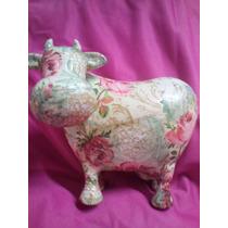 Antigua Alcancia En Forma De Vaca